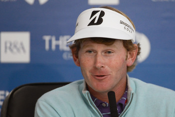 Brandt Snedeker holds the 36 hole lead at the Open