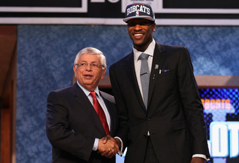 Charlotte missed out on consensus No. 1 pick Anthony Davis, and selected Michael Kidd-Gilchrist instead.