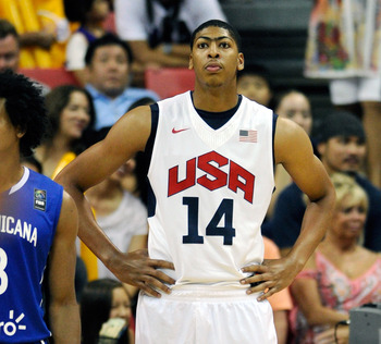 Anthony Davis' Olympic endeavors could cause fatigue for the rookie next season.