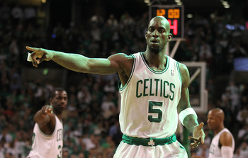 Kevin Garnett hopes to point the Celtics in the right direction.