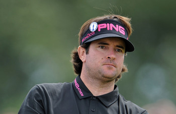 Bubba Watson is nine shots behind the leader