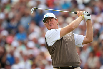 Ernie Els is T-5 heading into Sunday