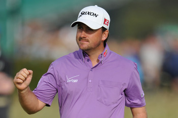 Graeme McDowell moved into T-2