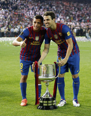 Alexis and Cesc
