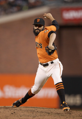 There's a new beard to fear in San Francisco's bullpen.