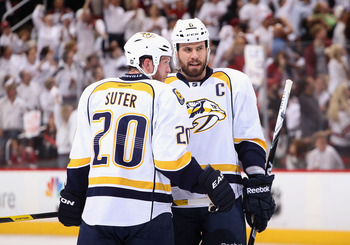 There's huge uncertainty as far as the Nashville Predators' defense is concerned with Ryan Suter leaving and Shea Weber potentially on his way out.