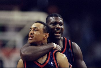 Knicks fans occasionally wanted to do this to John Starks.