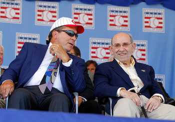 Johnny Bench, Class of 1989 & Yogi Berra, Class of 1972