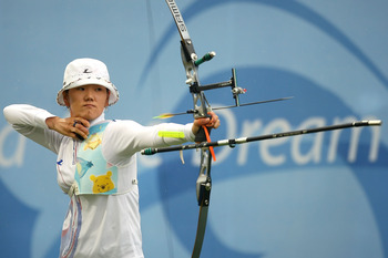 Park Sung Hyun is a two-event Olympic record holder.