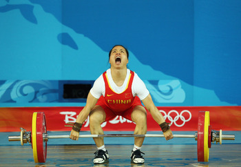 China's Chen Yanqing dominated the 58-kilogram weight class in the last two Olympics.