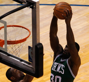 Brandon Bass might be the Celtics best low-post offensive player.