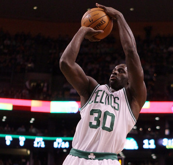Moving Garnett to center, means the power forward position is weaker.