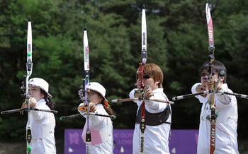 South Korea Archery Team