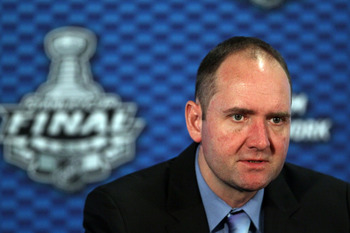 New Jersey coach Peter DeBoer has huge problems.