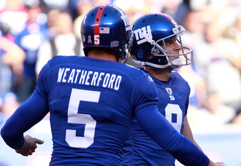Weatherford and Tynes are one of the best punter-kicker duos in th NFL.
