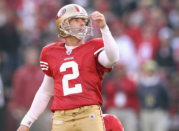 David Akers was stellar for the 49ers in 2011.