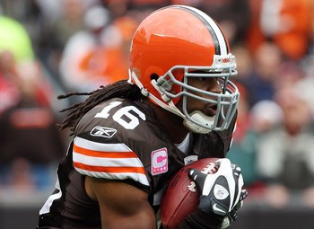Josh Cribbs is a two-time All-Pro kick returner.