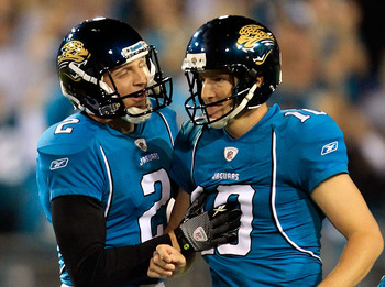 Josh Scobee is currently one of the best kickers in the NFL.