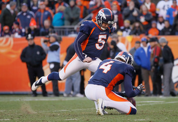Matt Prater was terrific for Denver in 2011.