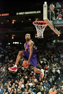 Vince Carter, the best to ever wear a Raptors jersey