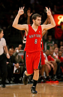 Calderon has been a major part of the Raptors offense, but could see his reign as the starting PG come to an end