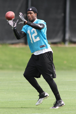 David Gettis (12) gives Cam Newton a new target in 2012.