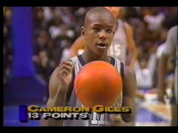 Cam'ron as a sophomore in high school