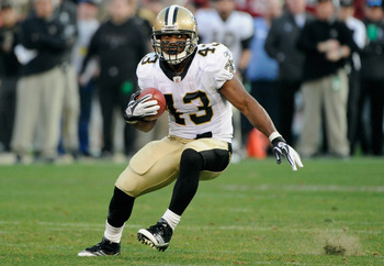 Darren Sproles broke the NFL All-Purpose Yards record in his first season as a New Orleans Saint