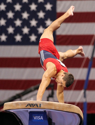 Jacob Dalton is the team's best vaulter