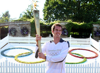 Does Murray's duty end with the honor of carrying the torch? Or was this a ploy to give him a practice opportunity?