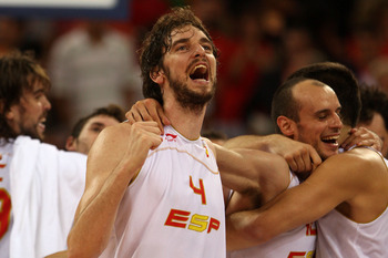 Pau Gasol a leader on the Spanish National team