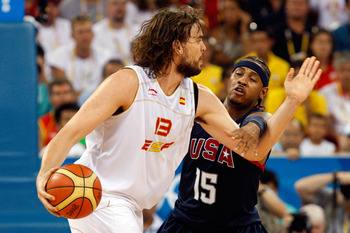 Marc Gasol will be deadly in the paint against the United States
