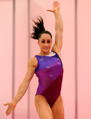 Jordyn Wieber during a recent Olympics training session in London.