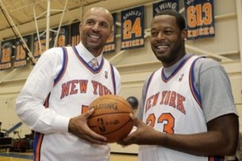 Jason Kidd (Left) & Marcus Camby (Right)