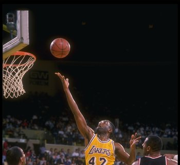 James Worthy was one of the best wingmen in the Laker Franchise