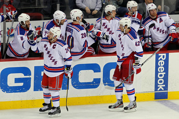The Rangers play in the East, ensuring Nash will not see much of the Blue Jackets