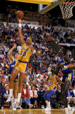 Kareem Abdul-Jabbar is the NBA's all-time leading scorer