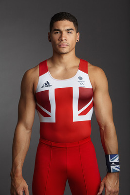 LONDON, ENGLAND - UNDATED: In this handout image from adidas, Team GB gymnast Louis Smith pictured in adidas Team GB London 2012 Olympic kit  in London, England.  (Photo by adidas via Getty Images)