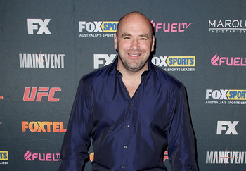 On TUF Dana White might yell at you!