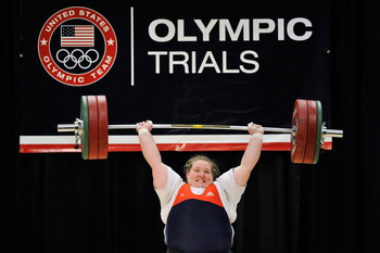 Holley Mangold at the US Olympic Trials in March.
