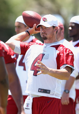 Kevin Kolb faces a lot of pressure in 2012.