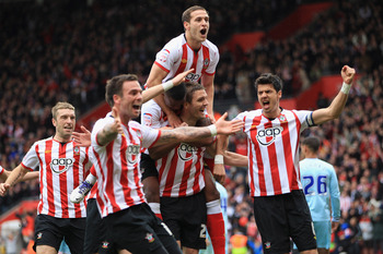 Finishing 17th may be cause to celebrate for Southampton this season.