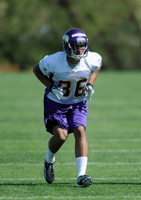 Minnesota drafted Robert Blanton in the fifth round of the 2012 NFL Draft. He has the ability to play safety and cornerback.