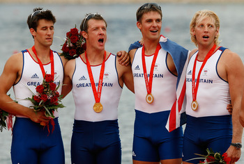 Three of the four gold medalists return for the 2012 Olympics.