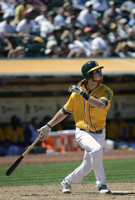 Josh Reddick has been a joy to watch in right field for the A's this season.