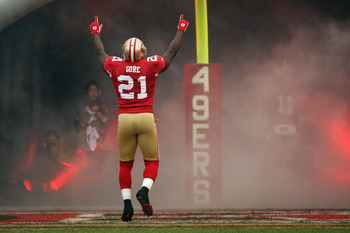 Frank Gore is hoping he can make the Niners No. 1 in 2012.