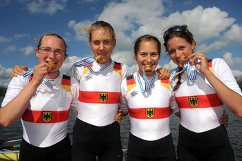 German Quadruple Sculls Team