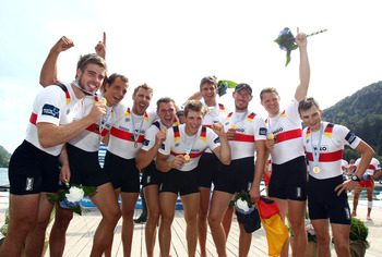 Germany Men's Eight Rowing Team