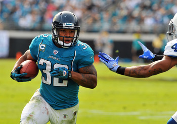Maurice Jones-Drew can shoulder the workload running between the tackles or outside of them.