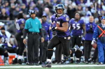 Ray Rice has been quick to put opponents in his rear view.